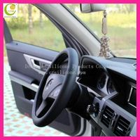 New style steering wheel cover fashionable silicone heated car steering wheel covers from factory