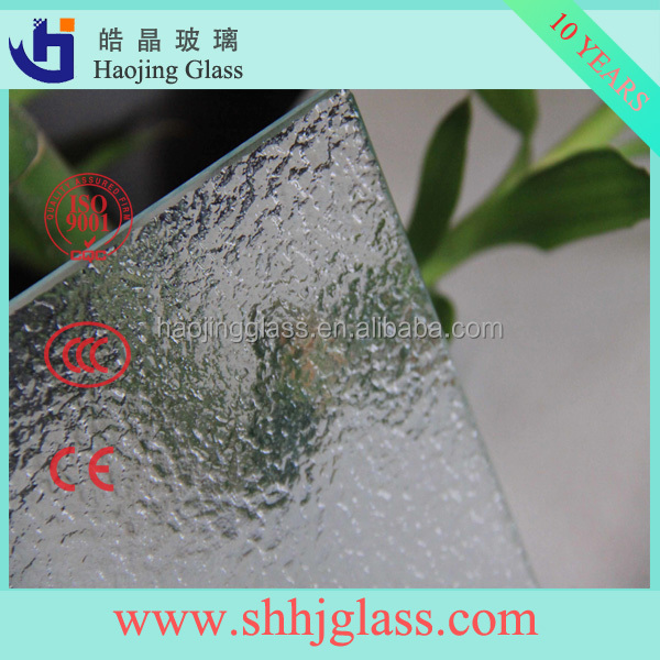3mm-8mm Clear/Colored Rolled Glass sheet patterned glass with high quality&reasonable price, CE,ISO9001:2000,CCC,EN12150