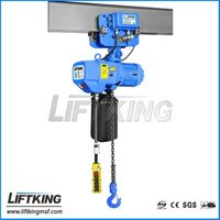 overhead crane hoist with motorized travelling trolley mounted , 220V , 380V , 415V , 440V , 3P,