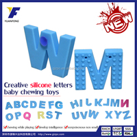 Wholesale educational toy,silicone letters toys,baby gift