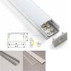 Anodized aluminium frame for led display,heatproof aluminium led street light body,alloy alu channel for led