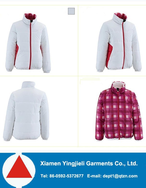 men double sided jacket,mens winter double layer jacket