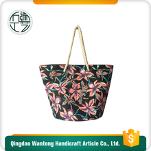 European fashion handmade felt beach bag for women