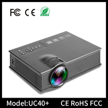 UC40+ mini projector for tablet pc portable mini multimedia projectors for teaching