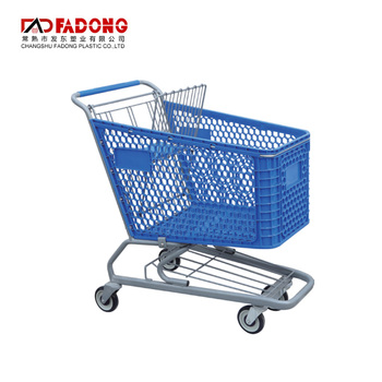 2018 most popular mini plastic supermarket shopping trolley cart