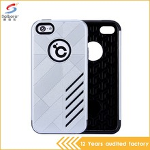 Gorgeous tpu pc cell phone case cover for iphone 5 5s