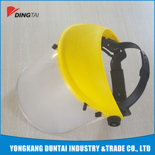high quality custom clear plastic face shield PVC face mask