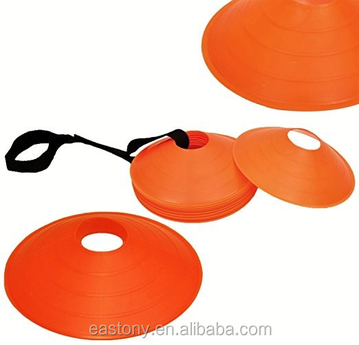 EASTONY plastic Field Cone Markers ,Football Saucer Cone marker 2 inches