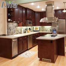 Custom Best Selling Solid Wood Kitchen Cabinet,Teak Wood Kitchen Cabinet