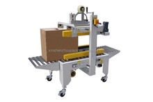 automatic adhesive tape up and down carton sealer machine/Side belts driven carton sealer/sealing machine