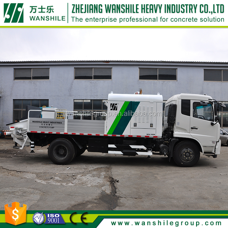 wanshile squeeze concrete pump price trucks