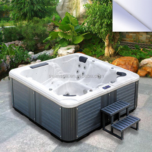 6 people acrylic whirlpool free standing balboa spa bath tub