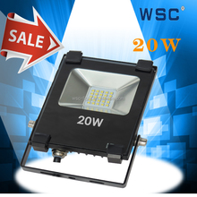 Cheapest high brightness CCT 3000K-6500K led flood outdoor lamps 20w