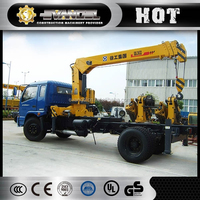 Engineering machinery 6 ton SQ6.3ZK3Q XCMG mobile small jib crane for sale