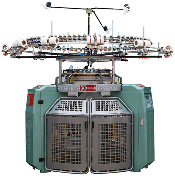 Single Jersey Body Size Jacquard Circular Knitting Machine