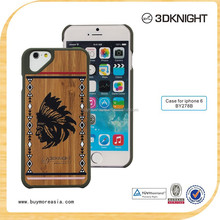 2016 Fashion Luxury Painting Wood Phone Case Hard Cover Case for iPhone 6/6s/6 Plus with Retail Package