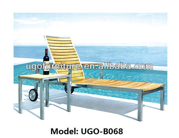 China UGO Supplier chaise lounge furniture Manufacuter Provide PE SGS Rattan