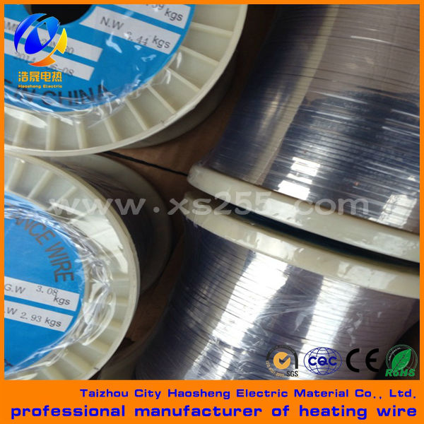 heating alloy fecral and nichrome resistance strip/ribbon/flat wire/tape