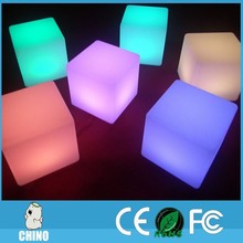 Nightclub furniture Led cube 40*40*40cm