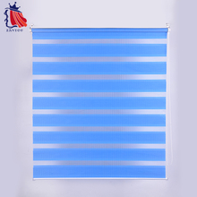 Best Quality Price Wholesale Double Fabric Zebra Roller Blinds