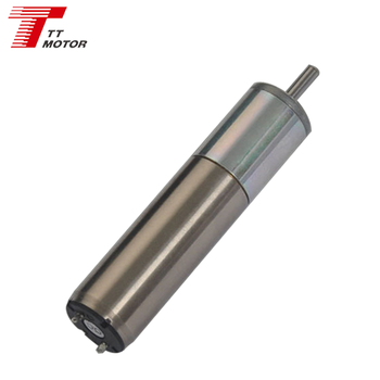Planetary geared coreless 12v brushless dc motor