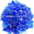Decorative crushed glass chips 1-3mm for floor