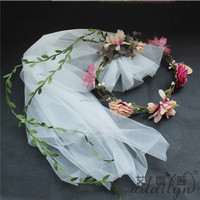 India flower garland tulle decoration for sale