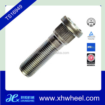 Xianghe Trailer Wheel Bolt Stud made in Ningbo Fenghua Manufacturer