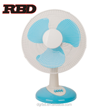 Standard 16 inch Oscillating Desk Standing Fan Electric Cooling Table Fan for Home Office and Dorm