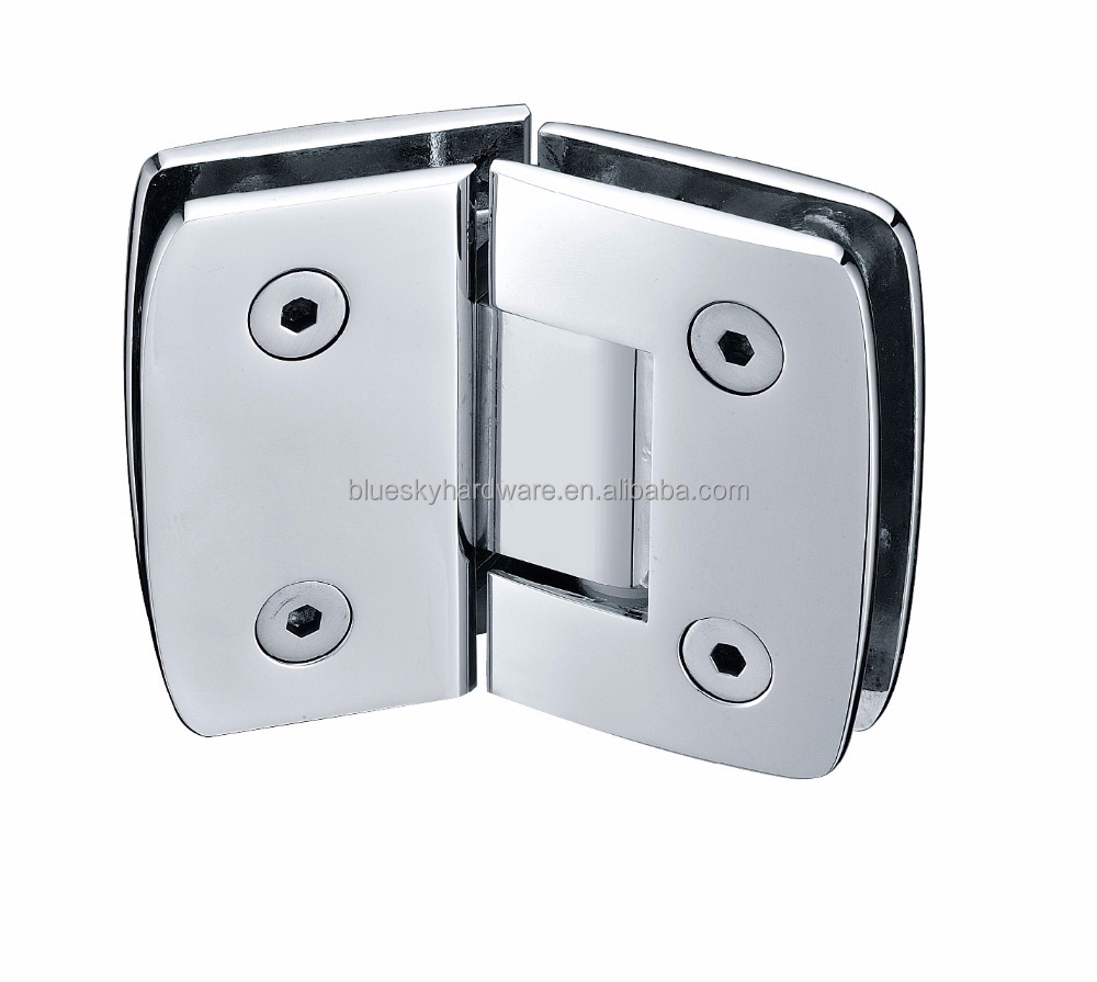 Light weight shower room door Hinge glass to Glass 135 degree for 8-12MM glass