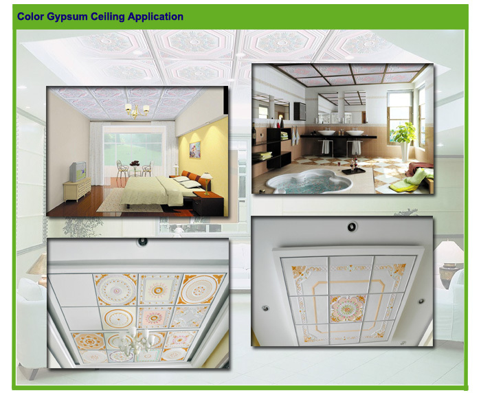 Fiberglass composite color reinforced gypsum board price for Gypsum colour