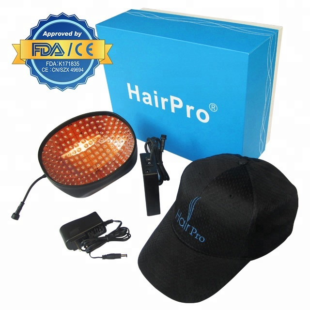 MADE IN CHINA :Protable homeuse hair regrowth laser cap- Hair lose treatment at anyplace!