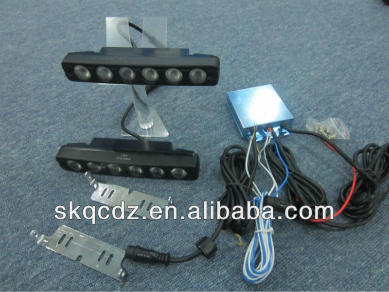 High power LED Daytime running light ,strips light 6 led Eagle eye lamp/CE Certification(SKD-010)