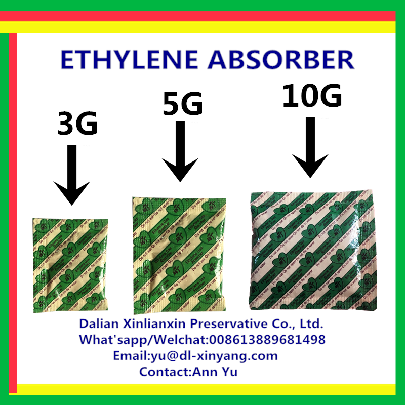 2016 hot selling food grade molecular sieve ethylene absorber/oxygen absorber