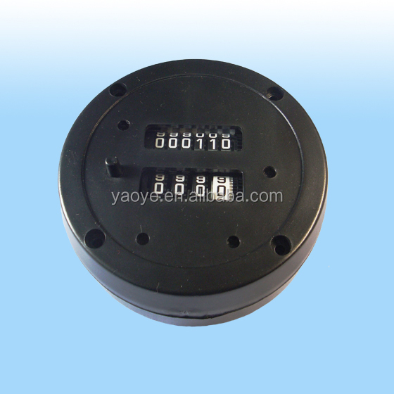 M25 plastic petrol mechanical Fuel flow counter