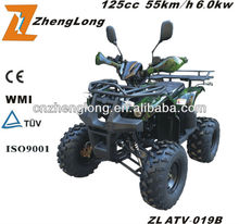 The EPA certification 4 stroke air-cooled electrical starting 110cc quad atv