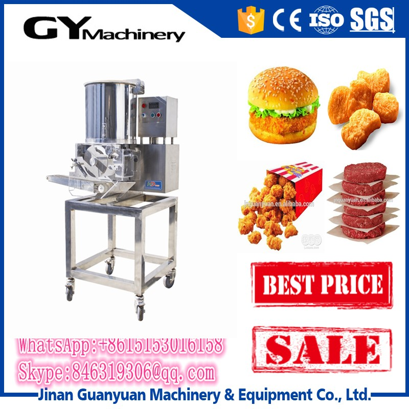 Stainless steel HOT burger machinery patties/frozen patties machine
