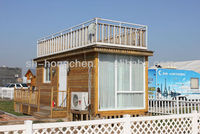 European style fashion two storeys combined container house