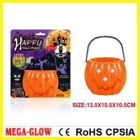 2015 led halloween light up candy bag,light up halloween buckets,led halloween bucket