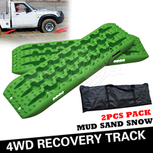 Green 4WD Off Road Sand Track 4x4 Recovery Gear for Jeep