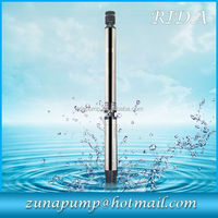 DC/AC solar water pump high quality deep well solar pumping system for irrigation