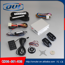 Car Auto Smart Keyless Entry System Engine Start Stop System Car Alarm System With Remote Engine Start
