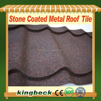 Firm and Durable Kingbeck Sand Granules Coated Metal Roof Price