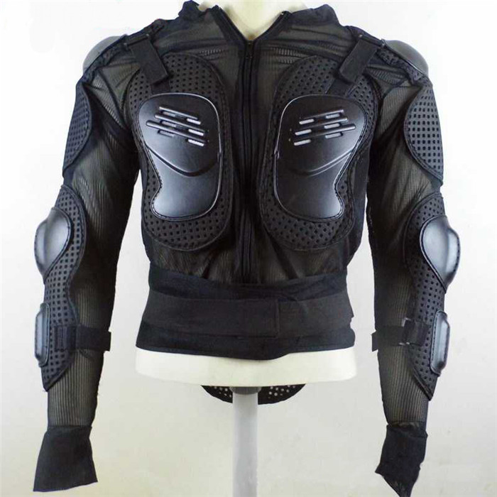 Black motorcycles armor protection motocross clothing Protective Gear cross back armor protector protection motorcycle