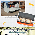 2013 hot sale corrugated cardboard rotary die cutter/pizza box making machine of good price