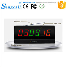 Restaurant Wireless Service Calling System Display Pager