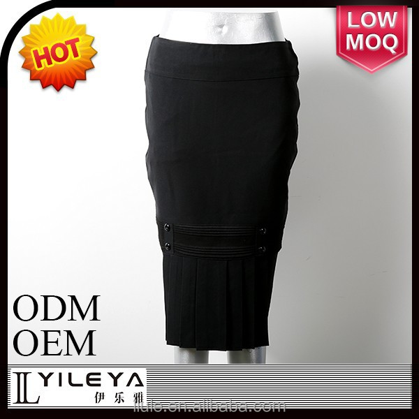 2015 Fashional new designed hot girls in office skirt
