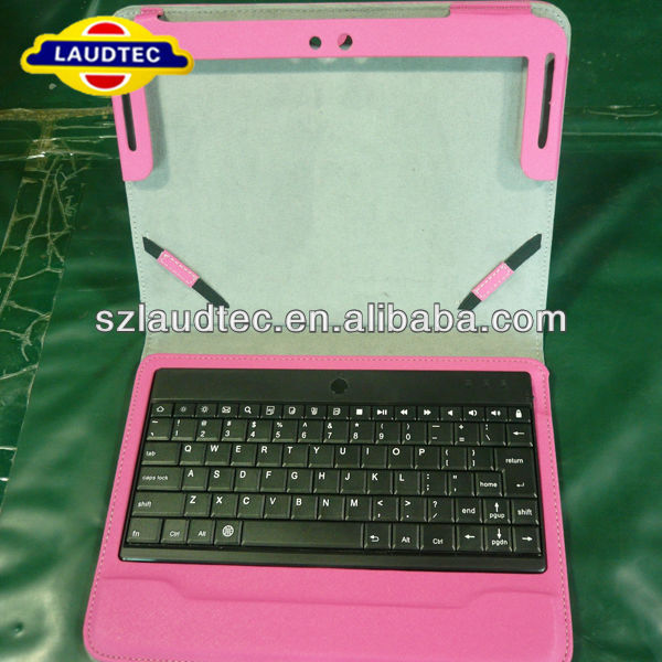 New arrival detachable leather case for iPad air keyboard case