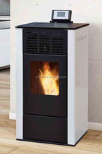 European Style Biomass Pellet Stove Boiler Fireplace 24kw
