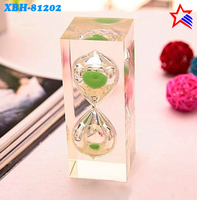 promotional gift and craft for two minute sand timer